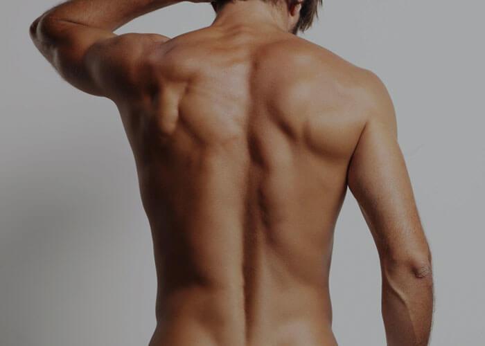 Male intimate waxing Brazilian